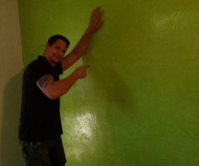 Wandgestaltung mit Kalkputz im Kinderzimmer