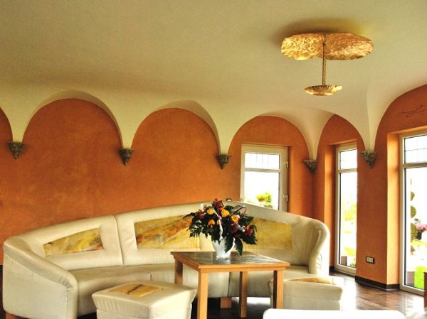 Wandgestaltung Frankfurt Mediterran Wohnen Mit Kalkputz